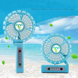Wholesale Handy Power - Portable Rechargeable Fan Mini Fan Handy Usb Fan Outdoor Clip Desktop 3 Speed Multipurpose Collapsible Built in Recharged Battery Power Bank