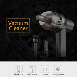 Wholesale Hand Car Vacuum Cleaner - Hand Wireless Strong Vacuum Cleaner Dust suction blower Vacuum Sweeper Brush tool for Keyboard Laptops Pet house Car cordless vacuum cleaner