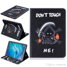 Wholesale Devil Cards - Devil PU Leather Flip Case for Samsung T280 T350 T377 T550 T560 T580 T715 Case T815 TBA J T285 With Card Holder