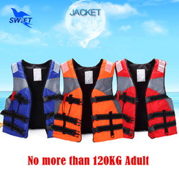 Wholesale Taped Jacket - Wholesale- Top Quality Adult Foam Life Vest With Lifesaving Whistle Reflective Tape Cheap Life Jacket For Fishing Swimming Drifting