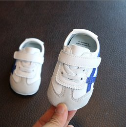 Wholesale Anti Skid Pvc - Fashion Baby kids First Walkers Infants soft bottom Anti-skid Shoes Autumn Warm Toddler shoes baby shoes