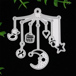 Wholesale Scrapbooking For Baby - Wholesale- Baby Toys Metal Cutting Dies for DIY Scrapbooking Card Making Kids Fun Decoration Supplies