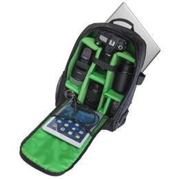 "Wholesale Camera Lens Rain Cover - Upgrade Waterproof Digital DSLR Photo Padded Backpack w  Rain Cover Multi-functional Camera Soft Bag Video Laptop 15.6"" Case fr Photographer"