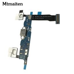 Wholesale Home Plug Connector - 10pcs For Samsung galaxy note 4 N910V N910A usb charger charging connector usb dock port plug flex cable ribbon + sensor + home button