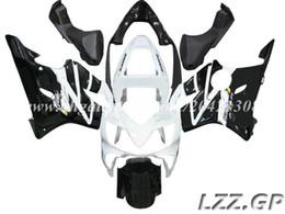 Carrinhos brancos honda f4i on-line-branco preto para Honda CBR600 F4i 2001-2003 2002 CBR600F4i 2001 2002 2003 CBR600F4i 01 02 03 carenagem carenagem # 4w7m1 carenagem de injeção