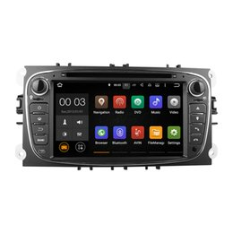 Wholesale Dvd Gps Ford Mondeo Android - Android 5.1 Car DVD Radio Player Multimedia System RK3188 With Wifi DAB CanBus for Ford Focus 2007-2011 C-Max S-Max Mondeo Galaxy