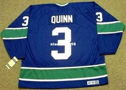 Wholesale Vintage Pat - Cheap custom retro PAT QUINN Vancouver Canucks 1972 CCM Vintage Jerseys Throwback Jerseys Throwback Mens stitched Hockey Jersey
