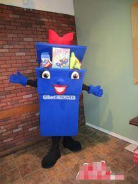 Wholesale Box Mascot Costumes - customized Storage box Mascot Costume Cartoon Character Fancy Dress Adult Outfit ,free shipping