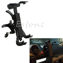 Wholesale Tab Car Holder - Wholesale- car 360 degree Rotating Car Air Vent Mount Holder For iPad Mini Samsung Tab 2 3