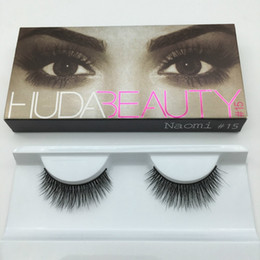 Wholesale Human Hair False Lashes - HOTTEST HB False Eye Thick Natural Fake Eye Lashes Eye Lashes Handmade Free Shipping 60 pair lot