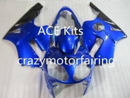 Wholesale Kawasaki Zx12r Fairings - 3 Free Gifts New Injection Mold ABS Fairing Kits for Kawasaki Ninja ZX-12R 2000 2001 nice Blue P9