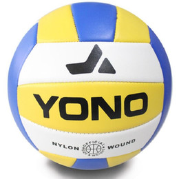 Wholesale Volleyball Free Games - Official Size 5 Soft Touch Indoor Outdoor Beach Volleyball Game Ball Thickened PVC Volley Ball For Match Training Free Shipping