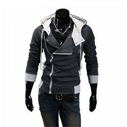 Wholesale Korean Winter Coats Sale - Wholesale- Hot Sale 2016 New Styles Men's Autumn And Winter Cardigan Korean Men's Hoodie Jacket Fahion Men's Coat High Quality jackets