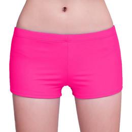 Wholesale Swimsuit Pant Short - Beach Short 2017 Summer Women Candy Color Swim Swimsuits Sport Yoga Pant Soft Elastic Sleeping Short ZL3359