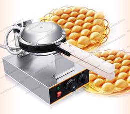 Wholesale Hong Kong Free Shipping - Free Shipping Electric 110V 220V Bubble Egg Waffle Maker Hong Kong Waffle Machine Egg Puffs MYY