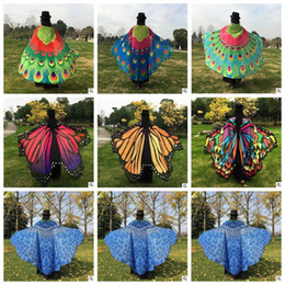 Wholesale Wholesale Beach Cover Up Wrap - Tapestry Hippy Boho Tablecloth Mandala Beach Towel Indian Bikini Wrap Butterfly Design Beach Shawl Cover Up Yoga Picnic Mat LJJC5671 10pcs