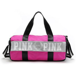 Wholesale Man Clothing Fold - 2016 Canvas secret Storage Bag organizer Large Pink Men Women Travel Bag Waterproof Victoria Casual Beach Exercise Luggage Bags