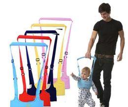 Wholesale Baby Assistant - Baby Safe Walking Belt Kid Keeper Toddler Walking Learning Assistant Adjustable Strap Harness 6-24Months