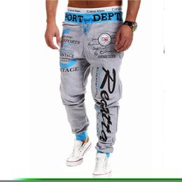 Wholesale Cargo Mens Wholesale - Wholesale-2016 New style fashion mens pants harem pant hip hop sweatpants,Casual joggers cargo