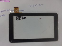 Wholesale Knc Tablets - Wholesale-Free shipping 10Pcs KNC MD708 7-inch touch screen on the outside of Founder Business A703 tablet capacitive screen Y7Y007 (86V)