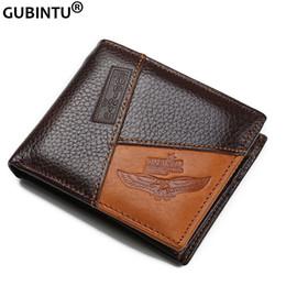 Wholesale Passport Holder Pink Leather - Wholesale- Famous Luxury Brand Genuine Leather Men Wallets Coin Pocket Zipper Men's Leather Wallet with Coin Purse portfolio cartera ZC8042