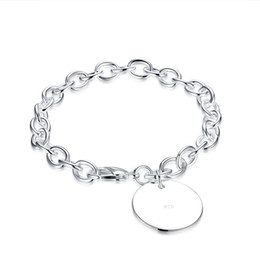 Wholesale mens 925 bracelets - 2017 New YUEYIN 925 Silver Plated Womens Mens Unisex Bracelet Bangle Wristband Link Chains Snake Chains Fashion Jewelry