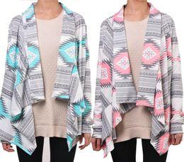 7112fa9bb ... Irregular Longo-de mangas compridas Cardigan Camisola Sexy Mulheres  Impressão Inverno Rosa Outono Mulheres Jaqueta Phocho1 pink sweater jackets  barato