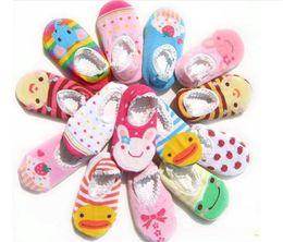 Wholesale Cartoon Baby Floor Socks - Baby Socks Children Non-slip Floor Sock toddler cotton non-slip floor sock Boys and Girls Toddler Cartoon Socks Sleeping Socks B1166-1