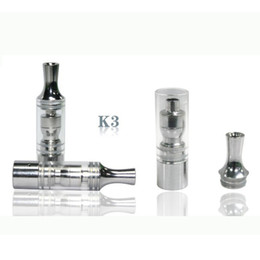 Wholesale Ego K3 Battery - K3 wax atomizer glass tank Dry Herb clearomizer vaporizer Metal Dip trip Detachable replacement Coil For Ego Battery E cig