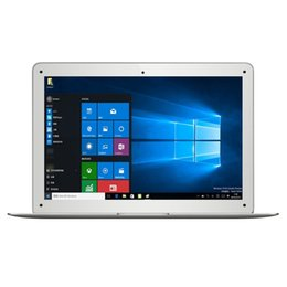 Wholesale Wholesale Windows Computers - Jumper EZbook 2 A14 Laptop 14.1 Inch Windows 10 notebook computer 1920x1080 FHD Intel Cherry Trail Z8300 4GB 64GB ultrabook DHL shipping 2pc