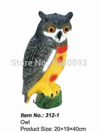 Wholesale Products For Promotion - Wholesale-Promotion 2014 free shipping hunting decoy 312-1 plastic owl product original factory sources wholesale&retail for decoy hunting
