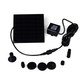 Wholesale pool hot - Wholesale- Hot Sale Water Pump Power Panel Kit Fountain Brushless DC Solar Pool Garden Watering Pumb Plants Water Power Fountain Pool