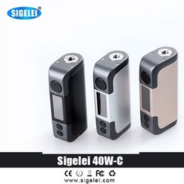 Wholesale Product Choice - Wholesale- Our new product, good choice for new vapor, easy use and control 40 watts with Zinc Alloy