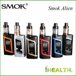 Wholesale Smok Alien Kit and Alien Mod ml TFV8 Baby Tank with Bluetooth Function OTA Technology Authentic