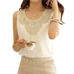 Blusas Feminina белая рубашка женские танки 2017 Vetement Femme плюс размер шифон блузка летние топы Camisetas Mujer Blusa от