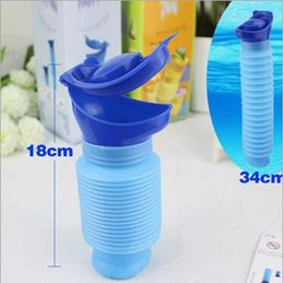 Wholesale Pee Potty - Unisex Mini Toilet Urinal Bucket for Car Travel Camping and Kids Potty Pee Training 750ML Family Portable Toilet CCA6052 50pcs