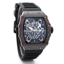 Wholesale Analog Skeleton Watch - 2017Luxury brand Fashion Skeleton Watches men or women Skull sport quartz watch 2