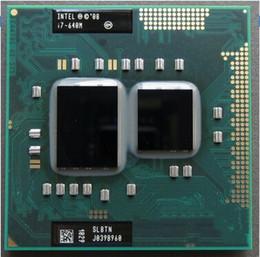 Wholesale Notebook Intel Core I7 - i7 640M Notebook CPU Original for Intel Core i7 640M 2.8 GHz 2-Core 4M Processeur Socket G1 Portable CPU SLBTN