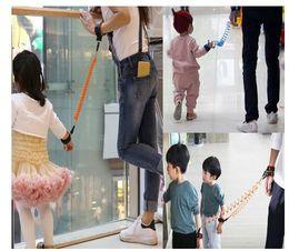 Wholesale Wholesale Walking Kids Strap - Fashion Baby Child Kids Anti Lost Wrist Link Safety Harness Strap Rope Leash Walking