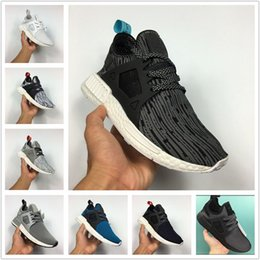 Wholesale Pearl Running - Wholesale 2017 NMD XR1 Primeknit Running Shoes White Pearl Grey Core Black BB2369 BB2370 Women Men Shoes Outdoor Sneakers Free Shipping.