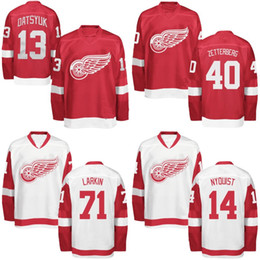 a91263dda81 Detroit Red Wings Jersey 11 Daniel Alfredsson 13 Pavel Datsyuk 35 Jimmy  Howard 93 Johan Franzen Custom Hockey Jerseys Mix Order cheap franzen jersey