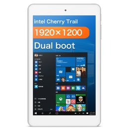Wholesale Tablet Windows 2gb Ram - cube iwork8 Air Tablet PC intel Z8300 Quad-Core 2GB ram 32GB rom 8 inch 1920*1200 IPS 2.0MP+5.0MP Dual-Cameras Windows 10+Android 5.1 WiFi