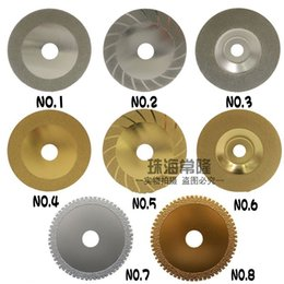 Wholesale Sand Disc - Electroplate Cutting Disc Diamond Saw Bit Alloy Web Sand Round Grinding Section Cut Wood Metal Tile High Quality 6 5cz H