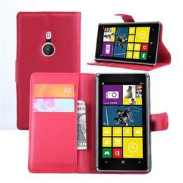 Wholesale Lumia 925 Flip - For Lumia 925 Wallet PU Leather Stand Flip Case for Nokia Lumia 925 Cover Phone Bag Cases For Nokia 925 Lumia