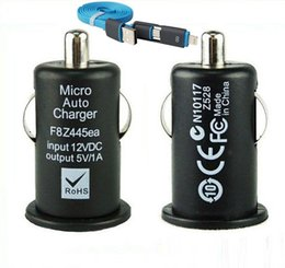 Wholesale Pro Data - Wholesale- USB Data Cable+ 5V 1A USB Car Charger for Meizu M1 note M2 Note MX5 MX4 Pro MX3 M031 MX2 M032 MX Oneplus one Two Car-Charger