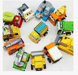 Wholesale Baby Car Jeep - Children's toy car diecast model return car engineering car series suit children's baby girl gifts