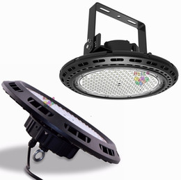 driver di cree Sconti UL FCC UFO LED High Bay Lights 100W 150W 200W 240W LED Illuminazione industriale Led magazzino mostra illuminazione Lampada CREE Chip + driver Meanwell
