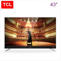Wholesale Alloy Tv - TCL 43 inch slim alloy Harman Kardon intelligent flat panel TV 4K ultra-high-definition theater TV hot new product!