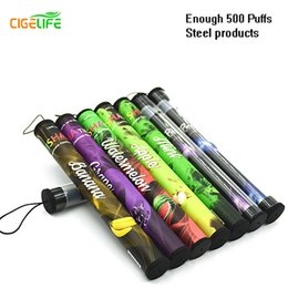 Wholesale Wholesale Disposable E Cigs - 2016 Hot Sale Real E Shisha Pen Eshisha Disposable Electronic Cigarette Time Cigs 500 Puffs 34 Type Various Fruit Flavors Hookah Pens free