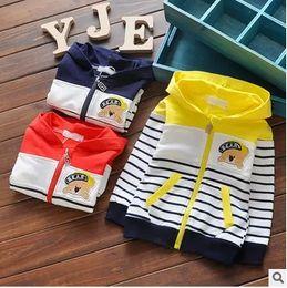 Wholesale Childrens Blouses - Wholesale- 2016 New Spring Autumn Kids Hoodies Coats Boys Sweatshirts Sport Baby Boy Hoodies Childrens Girls Blouse Outerwear 81